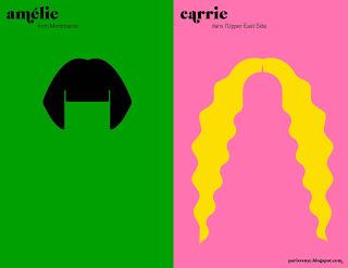 Amélie vs Carrie