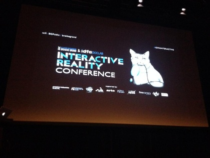 interactive reality conference 2013
